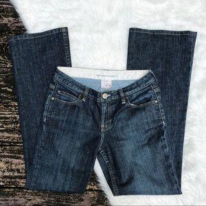 Banana Republic Contoured Boot Cut Jeans